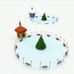 Toon Santa's Ice Rink