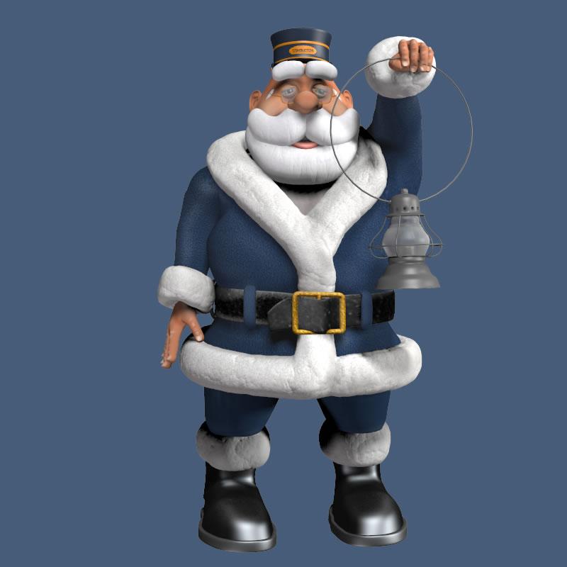 Conductor Santa