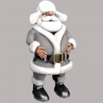 Ice Mountain Santa