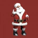 Classic Red Santa