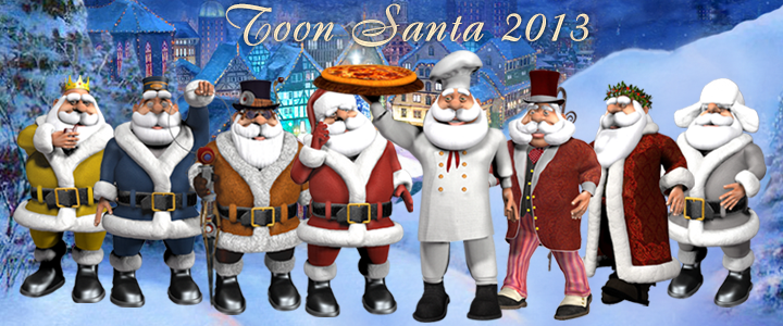 Toon Santa 2013 is Chef Santa