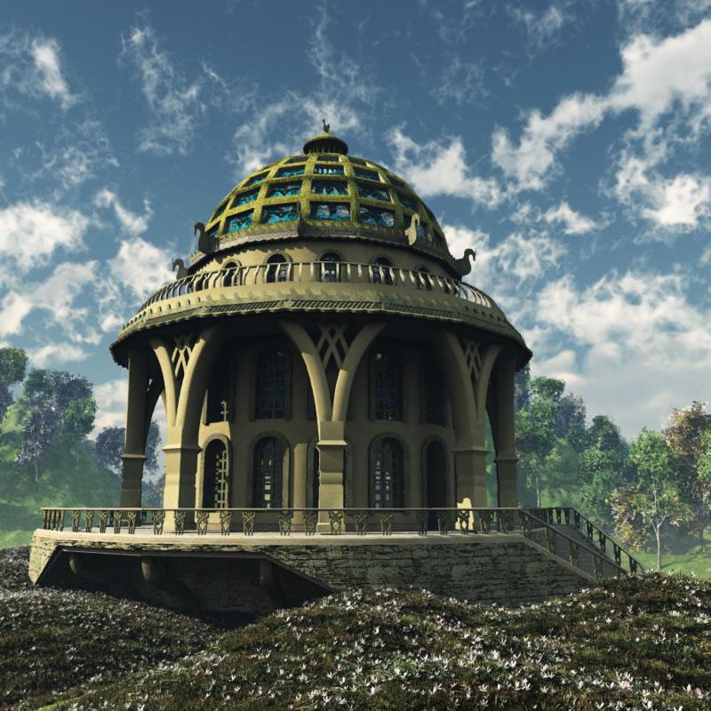 Elven Village Church R2