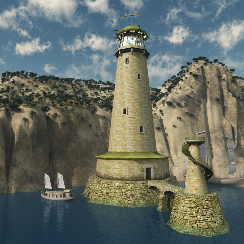 Elven Village Lighthouse R2