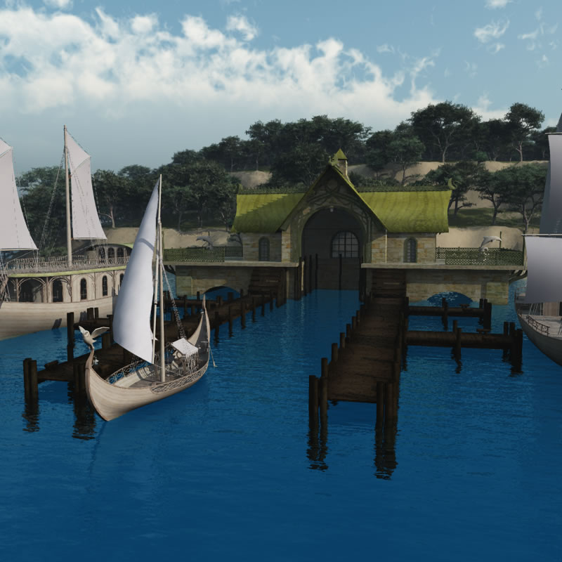 Elven Village Dock R2