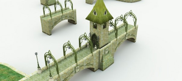 Elven Bridge-Gate: Multiple Parts