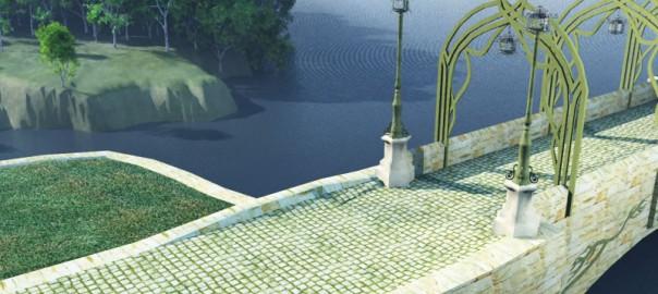 Elven Bridge-Gate: Landing