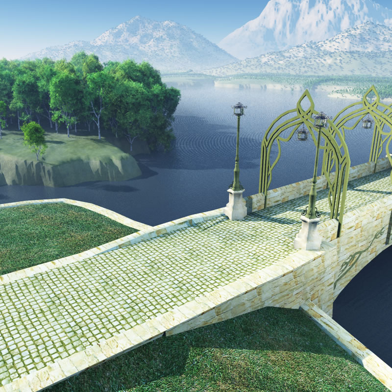 Elven Bridge-Gate: Landing