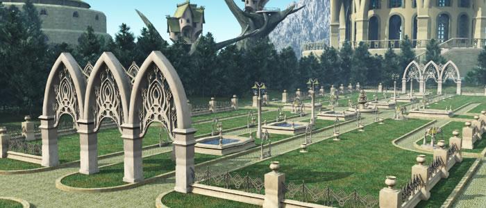 Elven Village Town Park R2