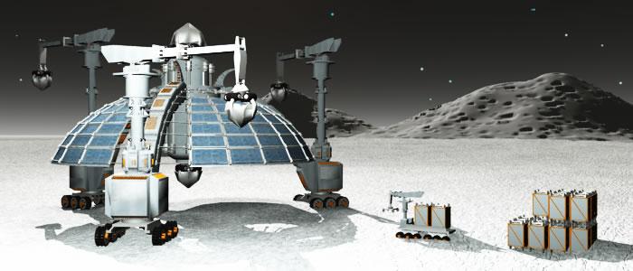Regolith Mining Base