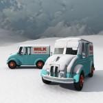 1950s Divco Milk Truck