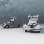 1950s Ice Cream Truck