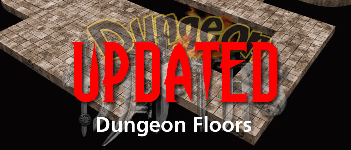 Dungeon Floors Updated