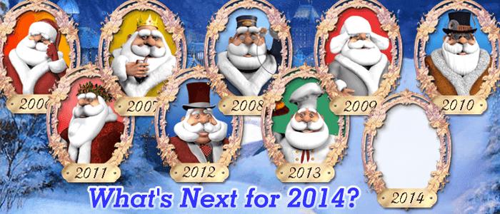 Help Us Pick Toon Santa 2014