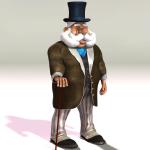 Gentleman Santa