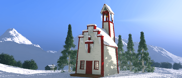 Wild West Christmas Church