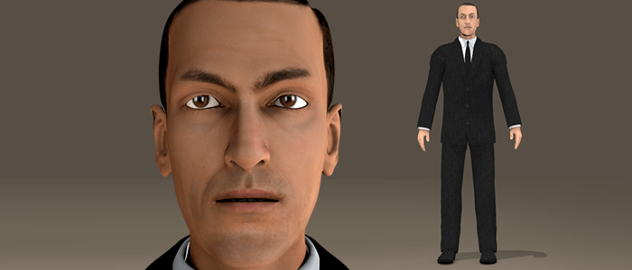 H P Lovecraft 3D