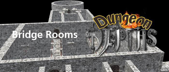 Bridge Rooms for Dungeon Depths: The First Level