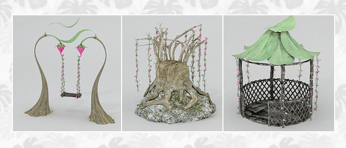 Faerie 3D Furnishings