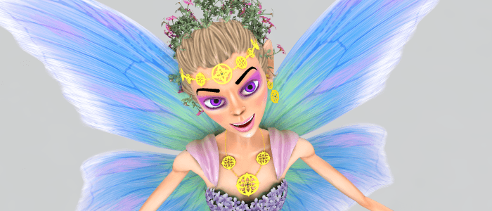 Faerie Handmaiden for DAZ Studio and Poser