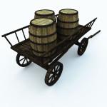 Medieval Ukraine Market 3D: MUVV2V103-05
