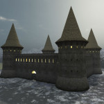 3D Medieval Ukraine Guardhouse
