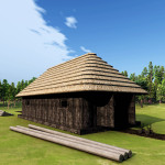 3D Medieval Ukraine Woodcutter