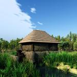 3D Medieval Ukraine Watermill