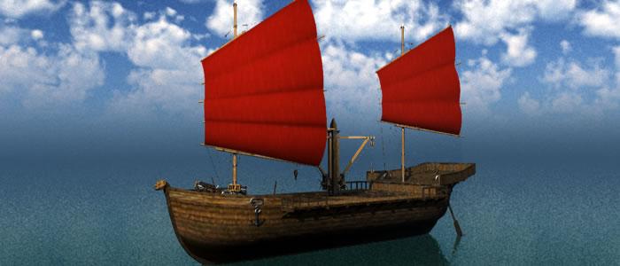 Orc Merchant Ship 3D