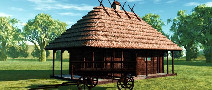 Medieval Ukraine Blacksmith 3D Model