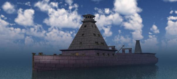 Dwarven War Ship R2