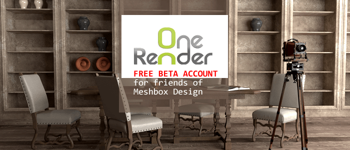 OneRender 3D Rendering in the Cloud