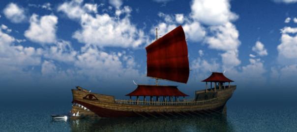 Orc Dragon Shaman's Ship
