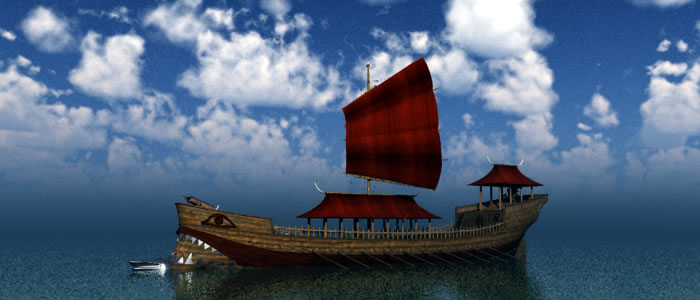 Orc Dragon Shaman's Ship
