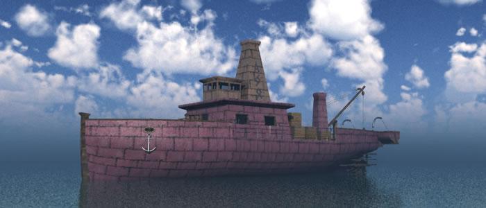 Dwarven Engineer's Ship R2