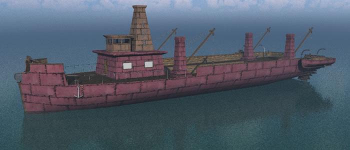 Dwarven Trawler Ship R2