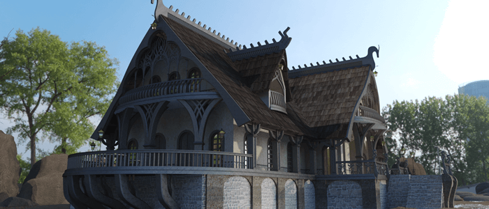 Elven Village Inn on OneRender