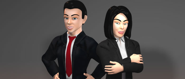 Norm 3D & Norma 3D Poser Characters