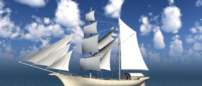 Elven Merchant Ship
