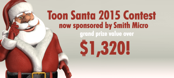 Toon Santa 15 Smith Micro Sponsored Contest