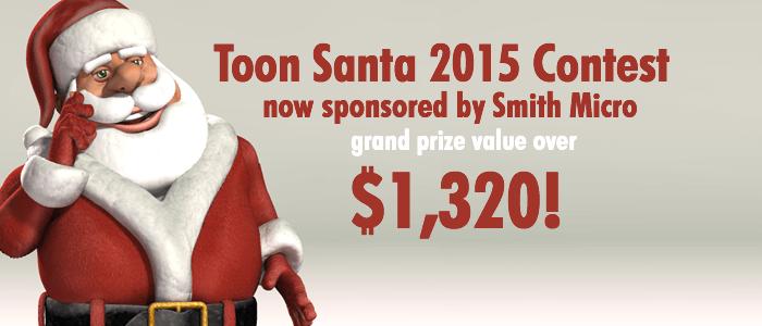 Toon Santa 15 Smith Micro Sponsored Contest