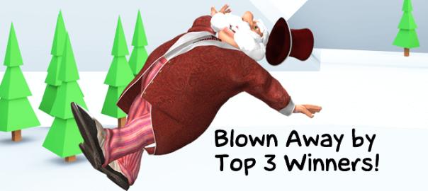 Blown Away by Top Three Winners