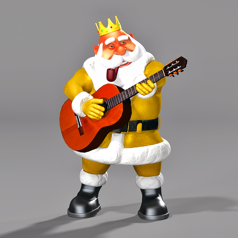 Toon Santa 07 King of the North Pole