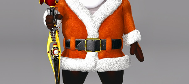 Steampunk Santa Rendered in Poser Pro 2016