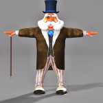 Gentleman Santa Regular Textures