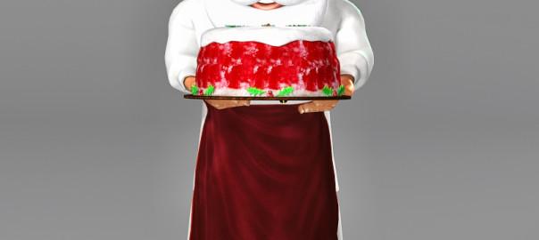 Chef Santa 3D