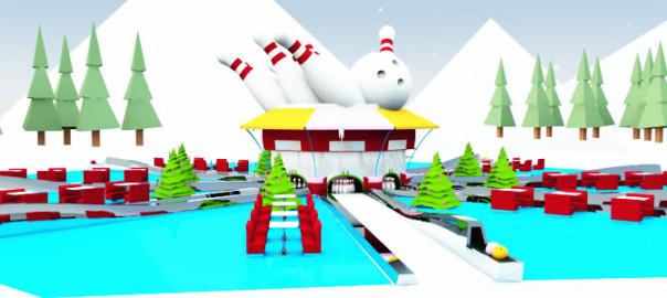 Santa's Bowling Alley