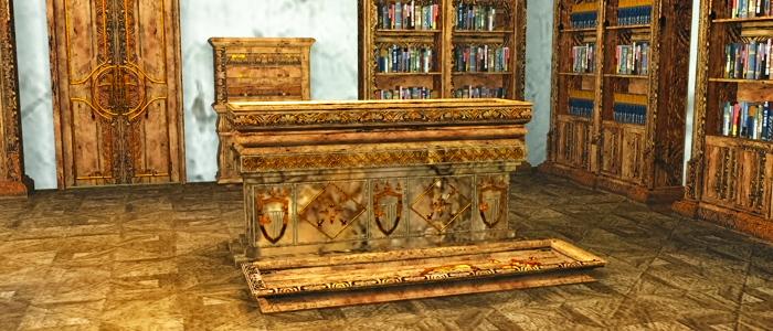 Master Vampire's Bedroom 3D Model
