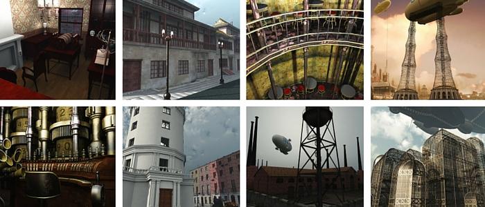 Steampunk City 1 - 700 x 300
