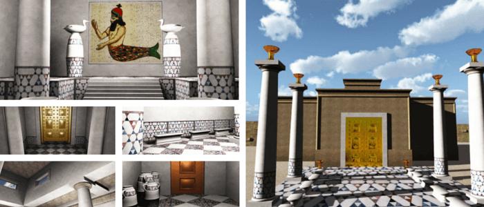 Temple of Dagon 3D Model