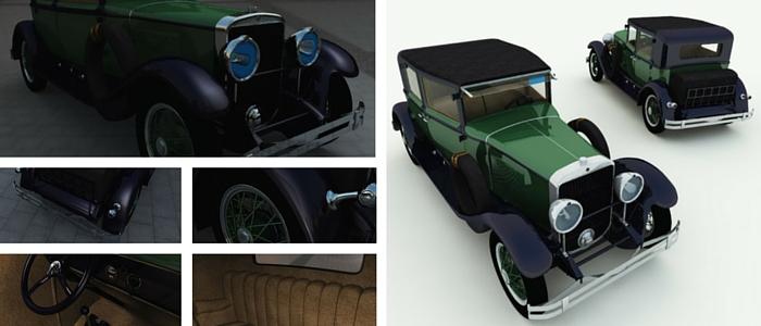 Al Capone 3D Car Model